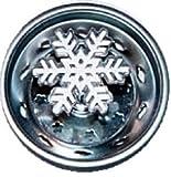 Enamel Kitchen Strainer Snowflake