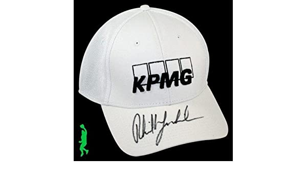 01c17b91aa5 Phil Mickelson Signed Kpmg Callaway Golf Hat Cap Masters Pga Tour Us Open  Coa - Autographed Golf Hats and Visors at Amazon s Sports Collectibles Store