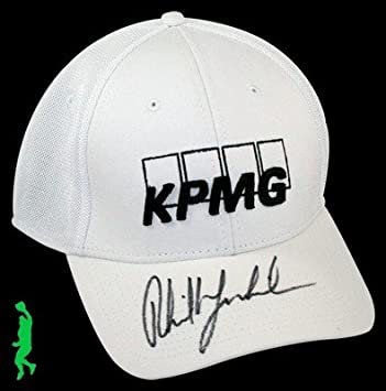 e4e56d9cae1 Image Unavailable. Image not available for. Color  Phil Mickelson Signed  Kpmg Callaway Golf Hat ...