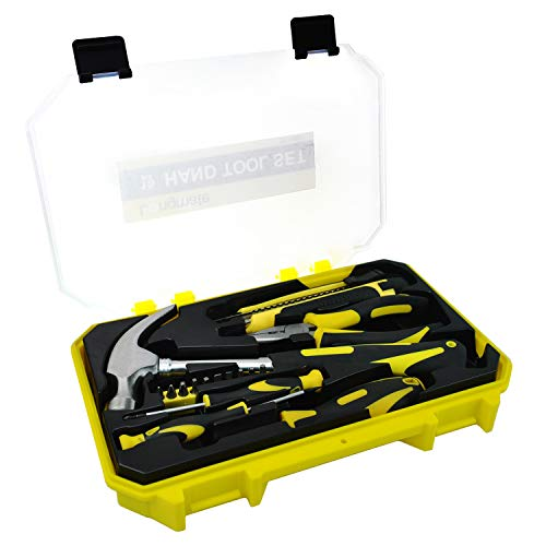 - Auto Repair Tool, Longmate 16 Piece Mechanics Tool Set Basic Homeowner's DIY Hand Tool Kit with Plastic Storage Case