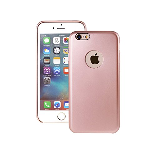 ArunnersTM iPhone 6 Plus/6s Plus Case Quality Invisible Built-in Magnetic Metal Plate iPhone 6Plus/6SPlus Skin Cover & Protector Fits For Any Magnetic Car Mounts & Table Holders - Rose Gold