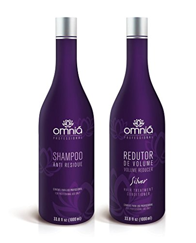 Omniá Professional - Silver Volume Reducer Treatment Kit - 1000ml / 33.8oz by Omniá Professional