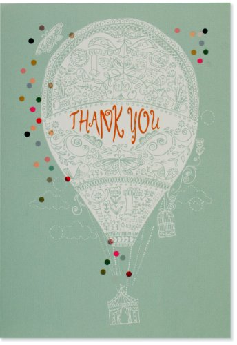Up, Up, and Away Thank You Notes (Stationery, Note Cards, Boxed ()