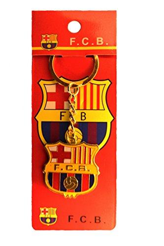 Barcelona World Cup (FC BARCELONA Logo FIFA Soccer World Cup Metal Keychain .. .. New)