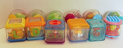 Mixed Lot of 12 Peek a Boo Roll a Round and Other Activity Blocks