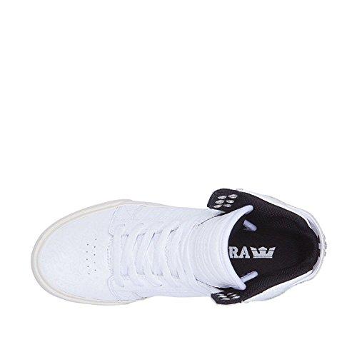 Supra Dames Skytop Sneaker Wit / Croc - Wit
