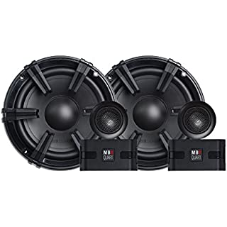 Discount MB Quart DC1-216 Discus 2-Way Car Component Speaker System with 1-Inch Aluminum Dome Tweeter on Silk Surround 6.5-Inch Set of 2