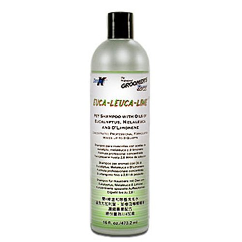 Groomer's Edge Euca-Leuca-Lime Dog and Cat Shampoo, 16-Ounce by Groomers Edge