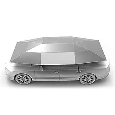 Reliancer Automobile Car Tent Portable Carport Movable Folded Sunproof Car Canopy