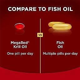 MegaRed 350mg Omega-3 Krill Oil, 90 softgels