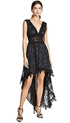 Temptation Positano Women's Prato High Low V Neck Dress