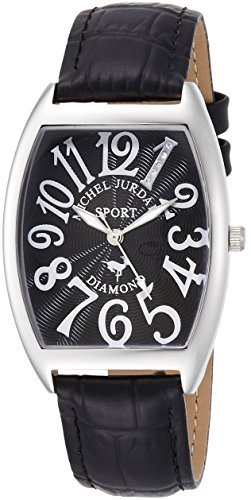 [Michel Jordan] michel Jurdain Michel Jordan [MICHEL JURDAIN] Men's Watch tonneau-shaped natural diamond containing SG1000-6 SG1000-6 Men's by michel Jurdain (Michel Jordan)
