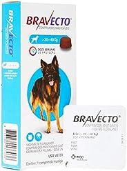 Bravecto Cães 20 até 40kg, 1000mg Bravecto para Cães, 20 até 40kg