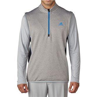 Adidas Golf Men's climaheat Vest - US L - Medium Grey Hea...