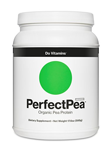 Cheap Do Vitamins PerfectPea – Organic Pea Protein Powder – Healthy Plant Based Vegan Protein, 100% Made in North America – Certified Organic, Vegan and Non GMO (500g)