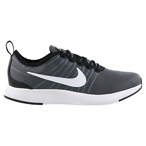 Nike Herren Dualtone Racer (GS) Sneakers Schwarz (Black/White/Dark Grey 001)