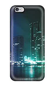 3765140K26256936 Hard Plastic iphone 4 4s Case Back Cover,hot Creative City Lights Case At Perfect Diy