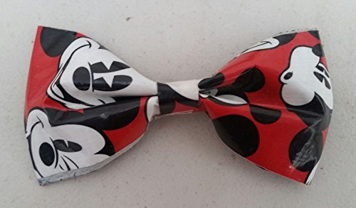 Mickey Mouse Bobby Pin Hair Bow or Bow Tie (Mickey Mouse Ties For Boys)