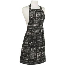 Now Designs Basic Cotton Kitchen Chef's Apron, Chalkboard