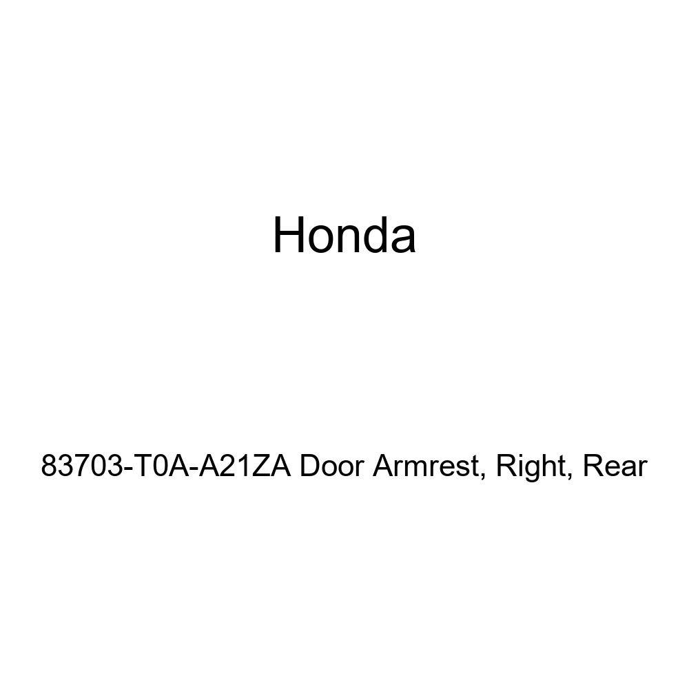 Honda Genuine 83703-T0A-A21ZA Door Armrest Right Rear