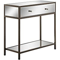 OSP Designs MARQ204-osp Marquis Foyer Table, Mirrored