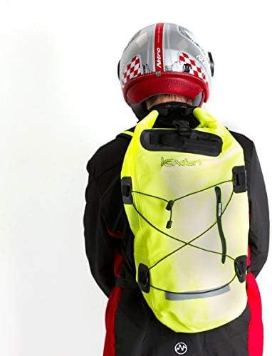 Lextek Waterproof Dry Bag Backpack 30L Fluorescent Yellow