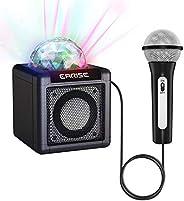 EARISE T12 Karaoke Machine for Kids with Microphone, Wireless Karaoke Speaker Microphone Bluetooth Speaker for