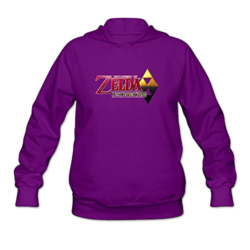 World Traveller Costume (RABBEAT Women's Sweatshirt The Legend Of Zelda Size L Purple)