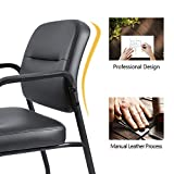 Devoko Office Reception Chairs Executive Leather