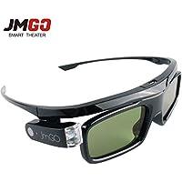 Original JMGO 3D DLP Link 3D Active Shutter Glasses for LG BenQ Optoma JMGO XGIMI DLP-Link Projector
