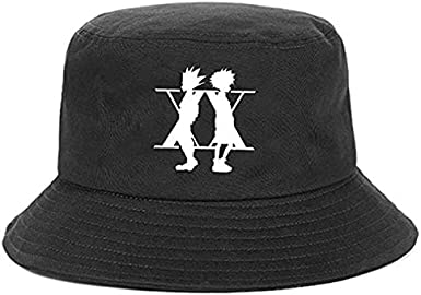 Hunter X Hunter Bucket Hat Killua Zoldyck Baka Classic Comic Panama Cap Anime Japan Cotton Fisherman Cap