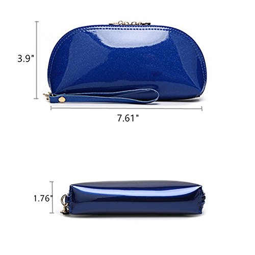 Colorful Mogor 14 Case Clutch Pu Purse Leather Handbag Mini Evening Women Wristlet Bag H8qnHwrT