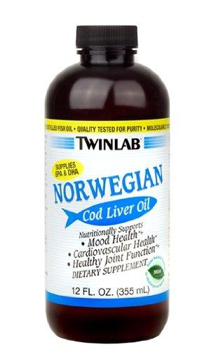 Twinlab Cod Liver Oil Mint 12 Oz