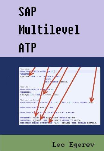 Download SAP Multilevel ATP Pdf