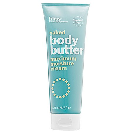 bliss Super-Sized Naked Body Butter Maximum Moisture Cream 14 Fl. ()