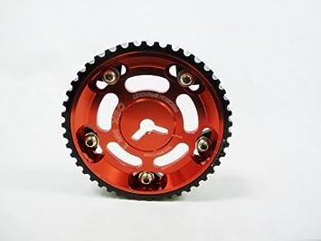 OBX Set Of Red Cam Gear Sprocket For Mazda 94-05 Miata 90-98 Protege 1.8L