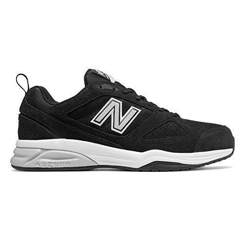 New Balance Men's MX623v3 Training Shoe, Black, 11.5 2E US