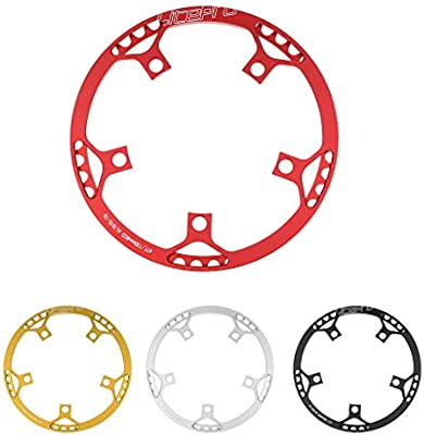 Bike Accessories Baosity Bicycle Chainring Narrow Wide Chain Ring Sprockets Cranksets Guard Protector 130mm BCD