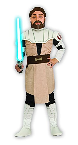 (Rubie's Star Wars Clone Wars Child's OBI-Wan Kenobi Costume and Mask,)