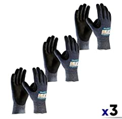 MAXICUT ULTRA Certain tasks require higher cut protection levels to help prevent lacerations and other hand injuries. MaxiCut Ultra provides EN 5/ANSI 3 cut protection. The superior grip in dry and oily conditions in addition to maximum dexte...