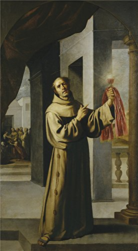 Ted The Movie Hat Adult (High Quality Polyster Canvas ,the Amazing Art Decorative Prints On Canvas Of Oil Painting 'Zurbaran Francisco De San Jacobo De La Marca 1659 60 ', 20 X 36 Inch / 51 X 92 Cm Is Best For Basement Decoration And Home Gallery Art And Gifts)