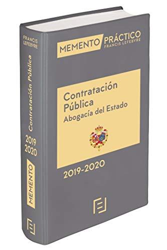 Memento Contratación Pública (Abogacía del Estado) 2019-2020 por Lefebvre-El Derecho