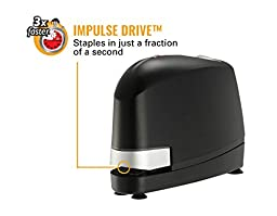 Bostitch B8  Impulse 45  No-Jam Electric Stapler & Staples Pack, Black (B8E-VALUE)