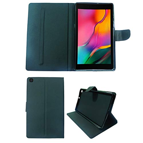 CELZO Trifold Flip Cover Case for Samsung Galaxy Tab A 8.0 T290 T295 T297 (2019) – {Black}