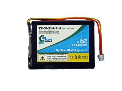 Amazon.com: TomTom One 3rd Edition Dach Battery - Replacement for