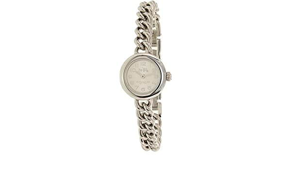 8f807c48f0ea Amazon.com  COACH Women s Waverly 23mm Gift Set Watch With 2 Bangles White Stainless  Steel Watch  Coach  Watches