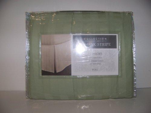 Charter Club 500 Damask Stripe Full Bedskirt Palmetto ()
