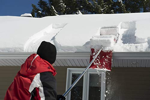 SNOWPEELER ROOF RAKE! Easy-To-Use Rooftop Snow Removal Tool with 20-FT Handle, 9-FT Snow Slide and 18-IN Cutting Blade. Aluminum and Stainless-Steel Construction. Less Time and Effort than Snow Rakes! by SNOWPEELER (Image #8)
