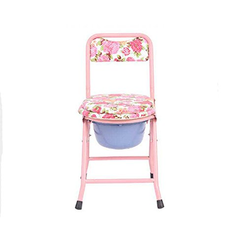 WW-Commode Chair Iron Tube Collapsible Use Bucket Elderly for sale  Delivered anywhere in USA