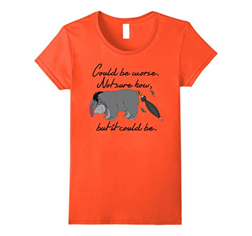 Womens Disney Winnie the Pooh Eeyore Could be Worse T-shi...